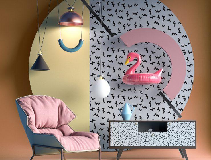 Trends 2018 Summer Flamingo in Decor