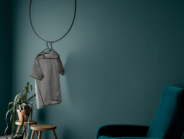 GREEN WALL PAINT   INTERIOR TREND