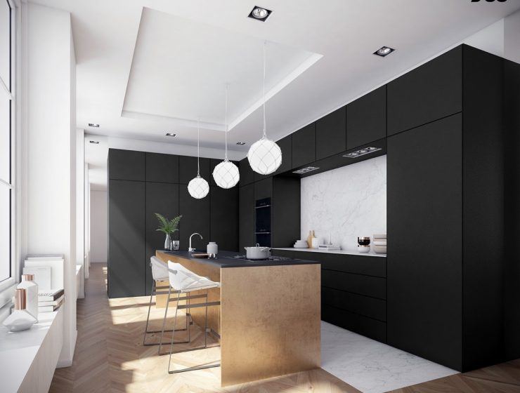 2018 Interior Trends: Matte Black Finishes