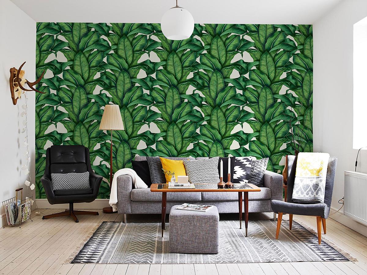tropical prints 2018 interior trends trendbook trend forecasting. Black Bedroom Furniture Sets. Home Design Ideas