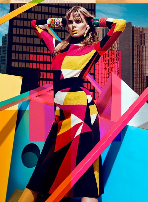 Fashion Meets Interior Design: Color block Furniture