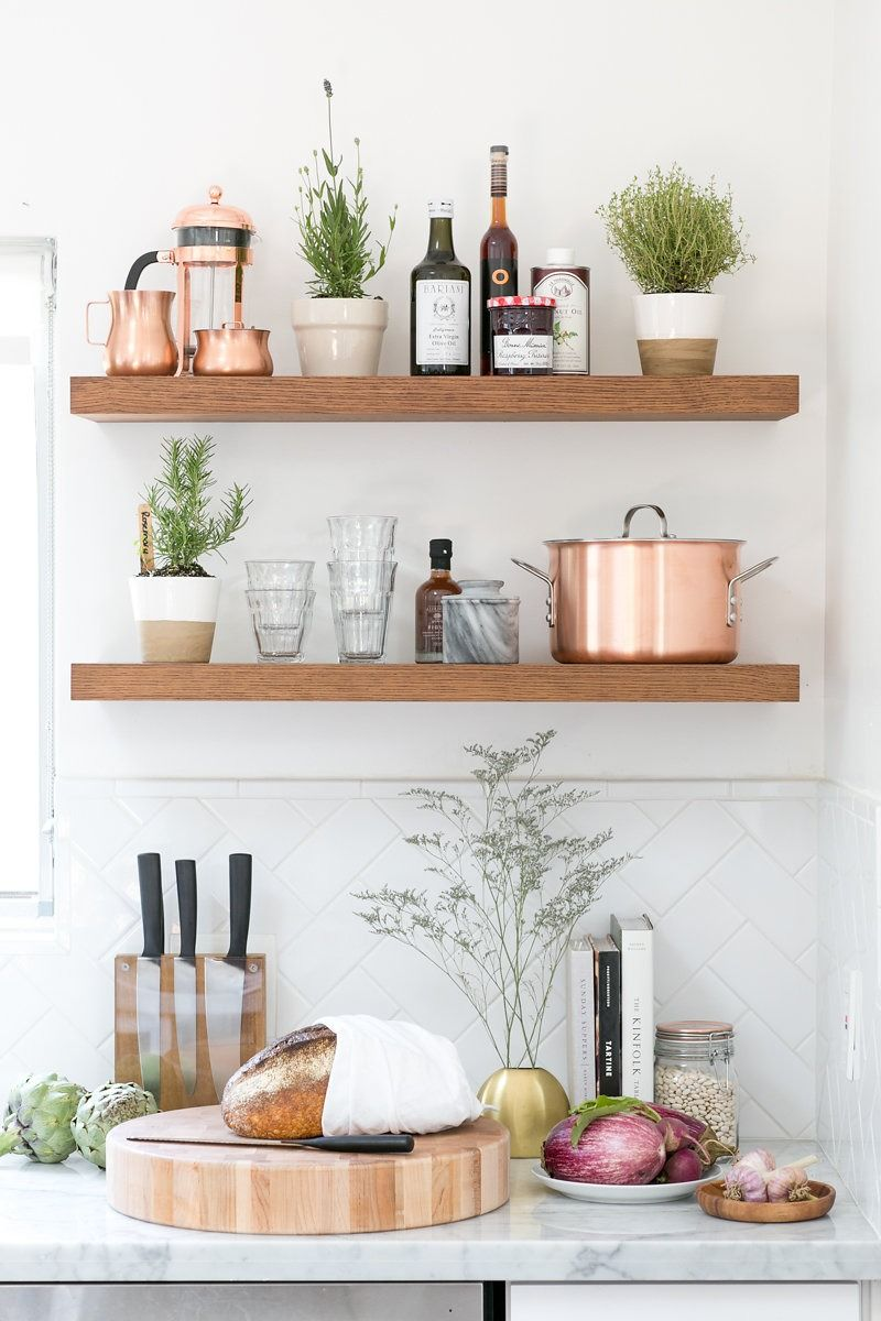 2014 Home Decor Trends Open Shelving: 10 Top Trends In Kitchen Design For 2018