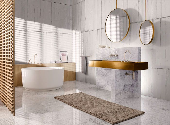 Designs, Colors and Tiles Ideas, 8 Bathroom trends for 2020 on Small Bathroom Ideas 2020 id=29199