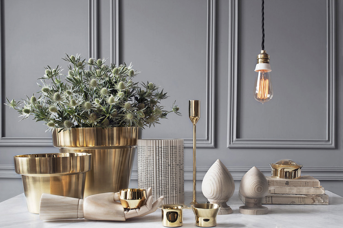 moodboard collection mix metals interior decor trend for 2019 trendbook trend forecasting