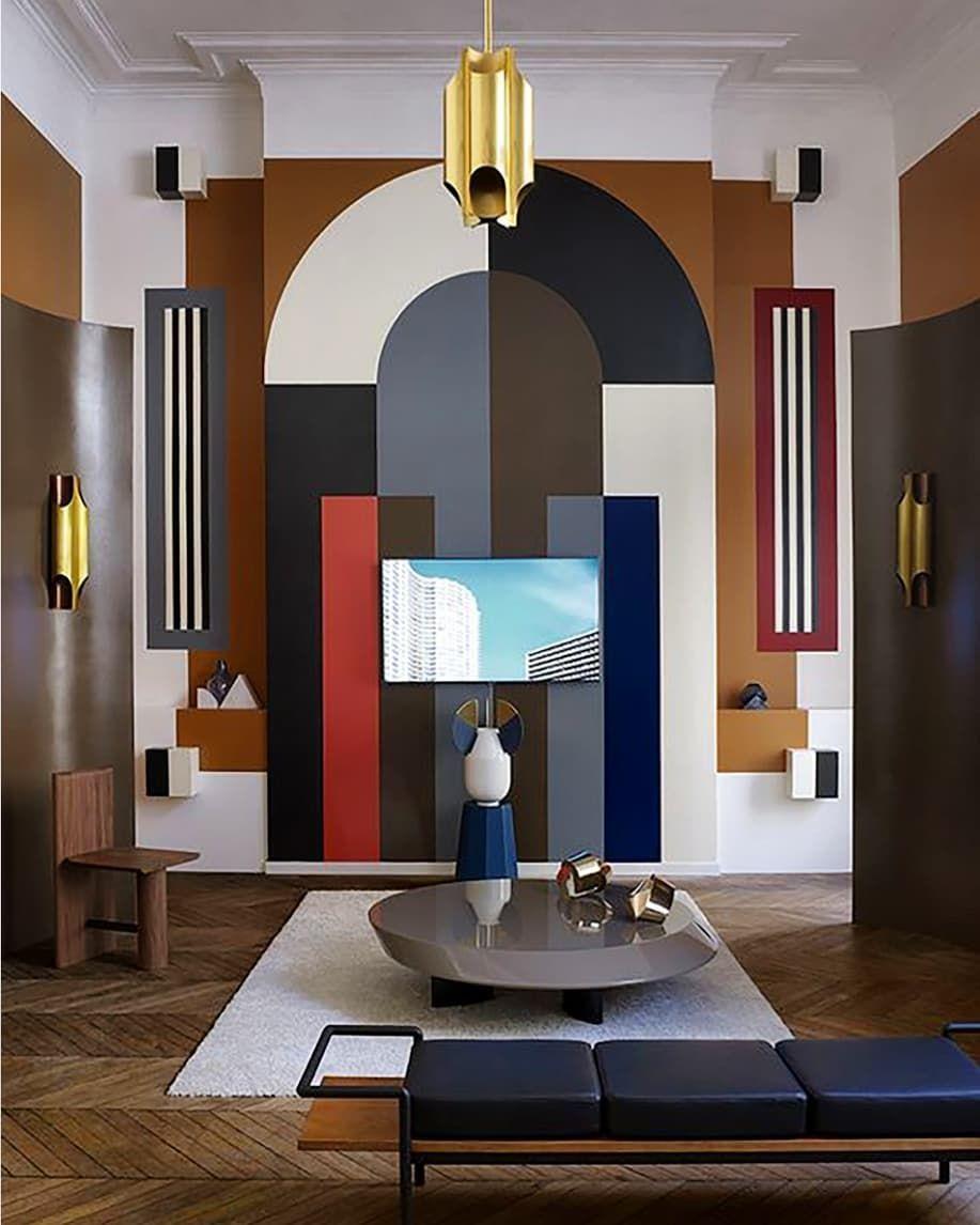 Moodboard Collection New Art Deco Interior Decor Trend
