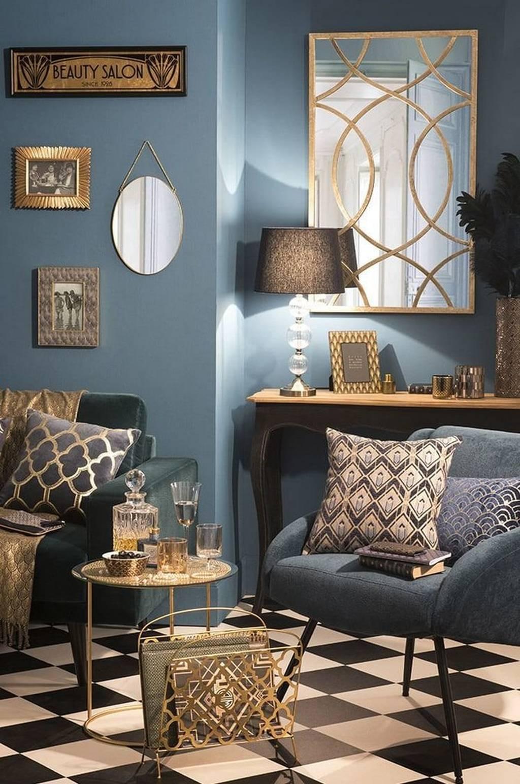 New Art Deco Interior Decor Trend