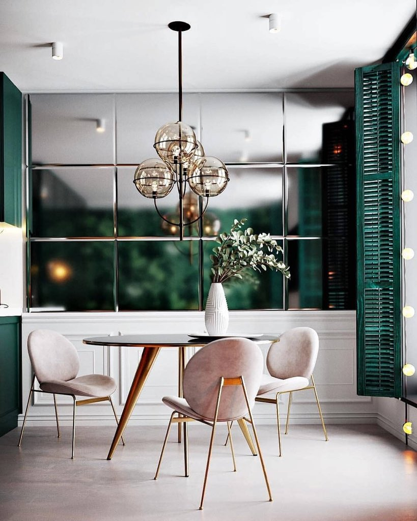 Moodboard Collection | Green Forest Interior Decor Trend for