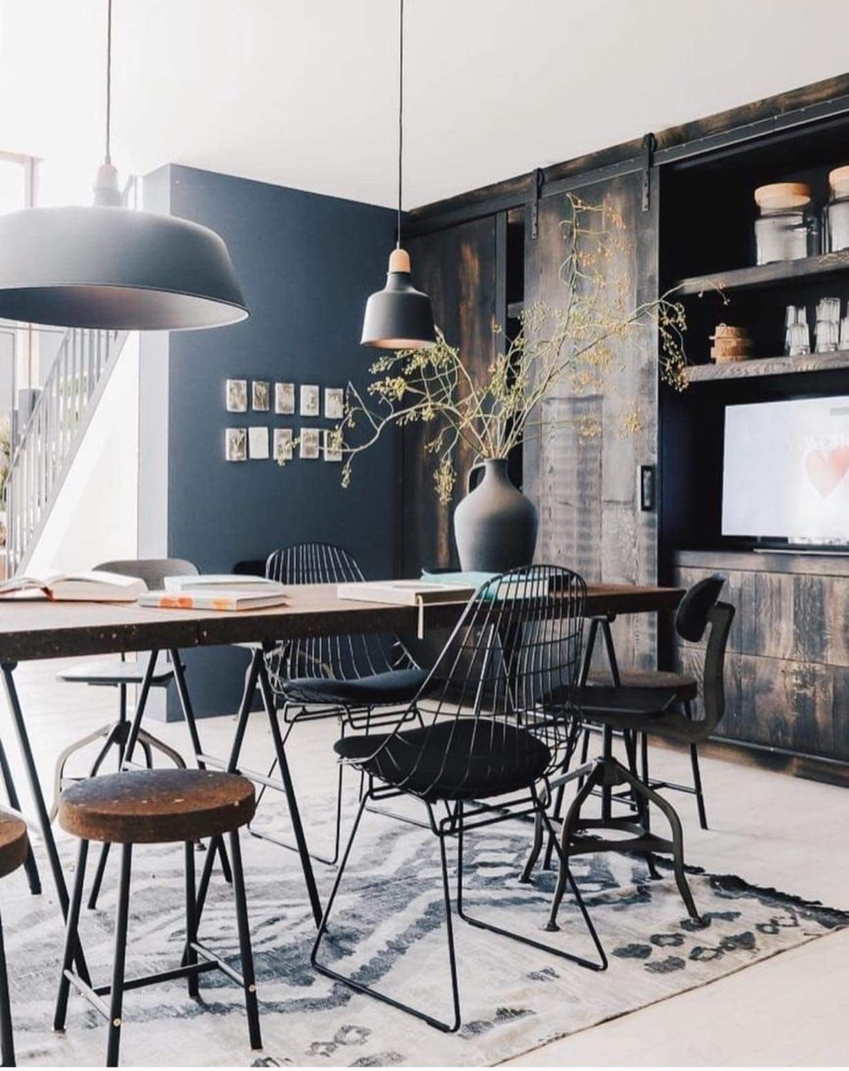 Moodboard Collection | Industrial Style Interior Decor Trend