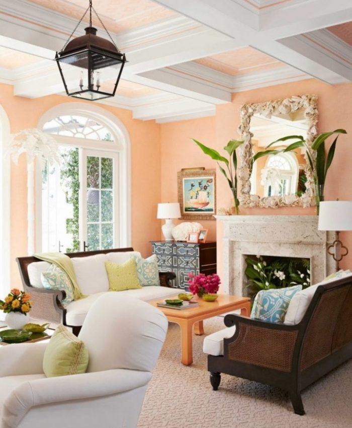 Cantaloupe 2020 Color Trend Design Ideas