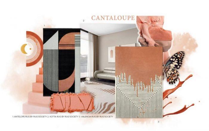 Cantaloupe Color Trend