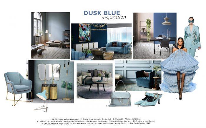 Dusk Blue Color Trend