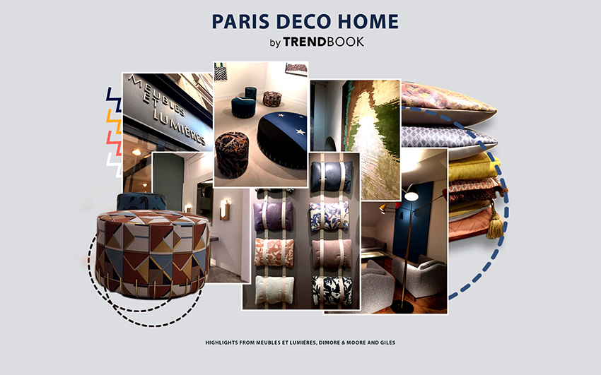 Moodboard Trends 2020 Paris Déco Off