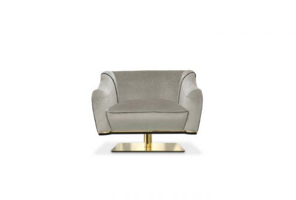 grey neutral armchair