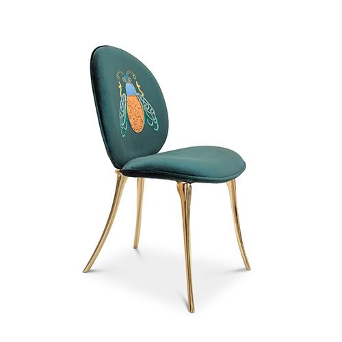 Soleil Green Chair