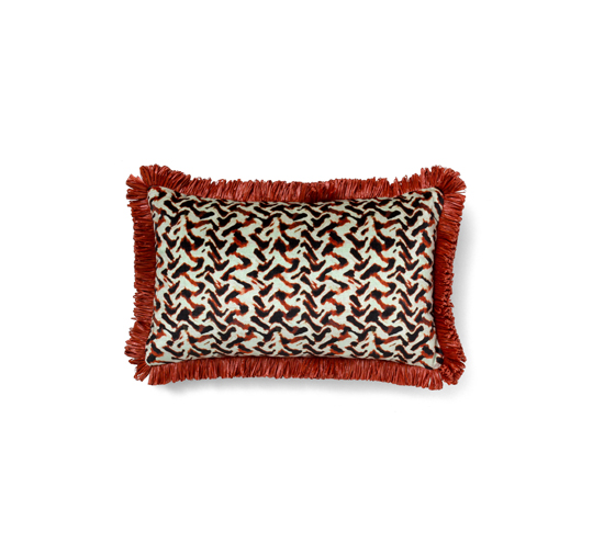 Albus Red Pillow