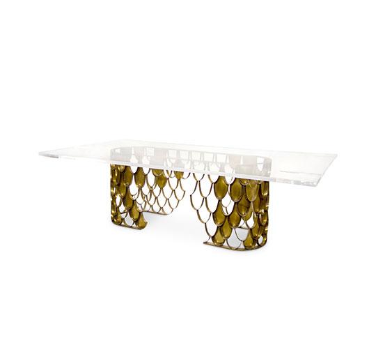 Koi II Large Dining Table